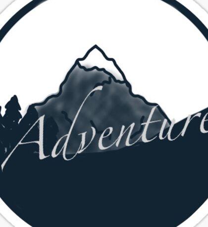 adventure seeker Sticker