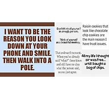 Funny Sayings Photographic Print