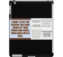 Funny Sayings iPad Case/Skin