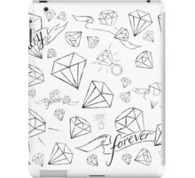 forever lucky iPad Case/Skin