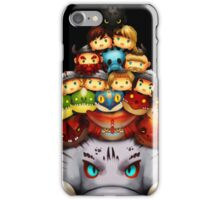 Stack Your Dragons iPhone Case/Skin