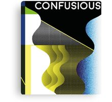 Confusious | Waves  Canvas Print