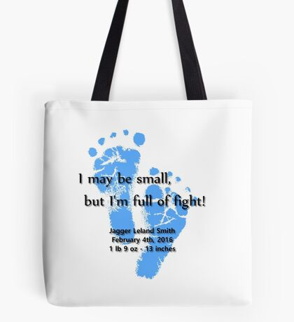 Full of Fight - Jagger Tote Bag