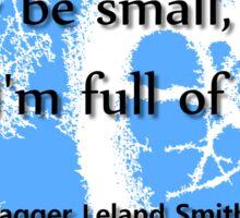 Full of Fight - Jagger Sticker