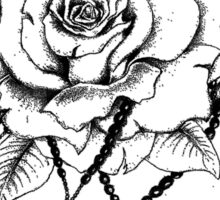 Rosary Rose Sticker