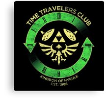 Time Travelers Club Canvas Print