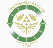 Time Travelers Club One Piece - Short Sleeve