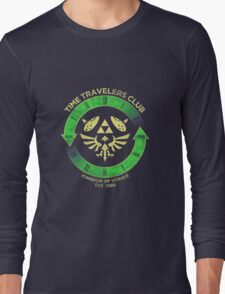 Time Travelers Club Long Sleeve T-Shirt