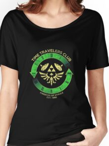 Time Travelers Club Women's Relaxed Fit T-Shirt