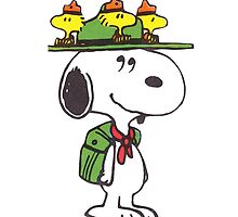 Snoopy by monggobuy