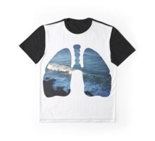 Ocean in my lungs Graphic T-Shirt