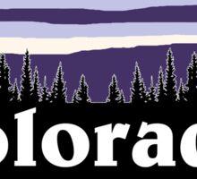 Purple Colorado Sticker