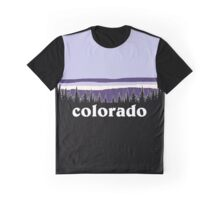 Purple Colorado Graphic T-Shirt