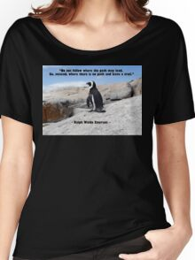 Penguin Philosophy, Do Not Follow Women's Relaxed Fit T-Shirt