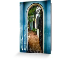 Southern Welcome  Greeting Card