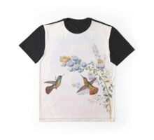 A monograph of the Trochilidæ or family of humming birds by John Gould 1861 V2 106 Heliopaedica Xantusi Graphic T-Shirt