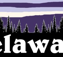 Purple Delaware Sticker