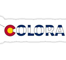 I ski Colorado Sticker
