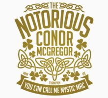 Conor McGregor Crest [GOLD] Kids Tee