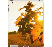 Shining Leaves iPad Case/Skin