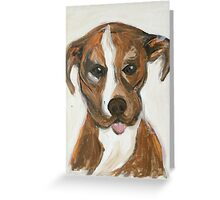 Brad the Pit Greeting Card