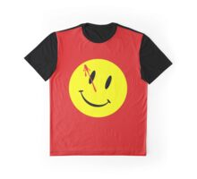 The Watchmen Movie Comedian funny nerd geek geeky Graphic T-Shirt