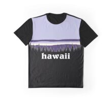 Purple Hawaii Graphic T-Shirt