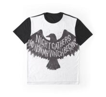 Night Gathers Graphic T-Shirt