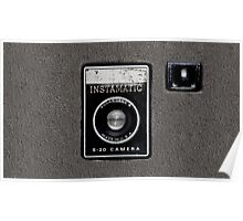 Vintage Camera cell phone case camera geeks Poster