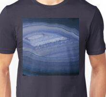 Blue Banded Agate Stone Unisex T-Shirt
