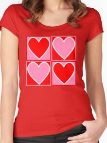 Valentine gift Women's Fitted Scoop T-Shirt
