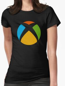 Xbox-Win design  Womens Fitted T-Shirt