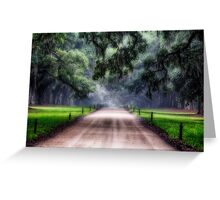 Live Oak and Spanish Moss Greeting Card