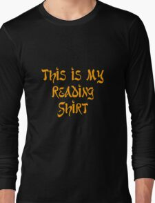 this is my reading funny nerd geek geeky T-Shirt