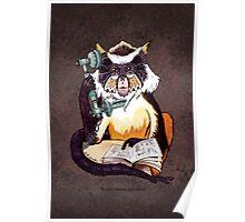 Wolf's Mona Monkey II Poster