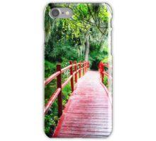 Little Red Footbridge iPhone Case/Skin