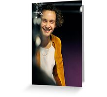 George Daniel Live Lounge Greeting Card