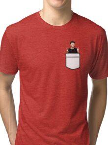 Pocket Dan Tri-blend T-Shirt