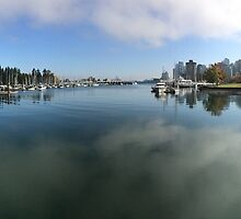 Vancouver harbour panoramic  by daxfullbrook