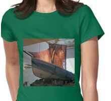 The Knitted Ship Womens Fitted T-Shirt
