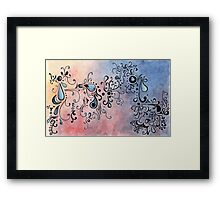 Abstract Color II Framed Print