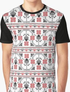 Traditional romanian embroidery  Graphic T-Shirt