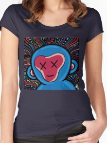 funk monkey Women's Fitted Scoop T-Shirt