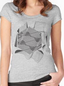 Gravitational Waves : Discovery 2016 Women's Fitted Scoop T-Shirt