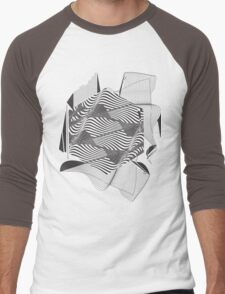 Gravitational Waves : Discovery 2016 Men's Baseball ¾ T-Shirt