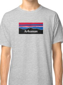 Arkansas Red White and Blue Classic T-Shirt