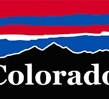 Colorado Red White and Blue by AdventureFinder