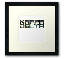Star Wars Kappa Delta Framed Print