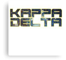 Star Wars Kappa Delta Canvas Print
