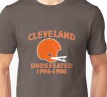 CLEVELAND UNDEFEATED 1996-19 funny nerd geek geeky Unisex T-Shirt